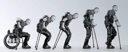 Prezentace původní vojenské technologie robotického rehabilitačního systému Eksoskeleton