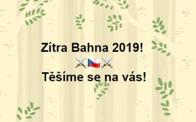BAHNA 2019