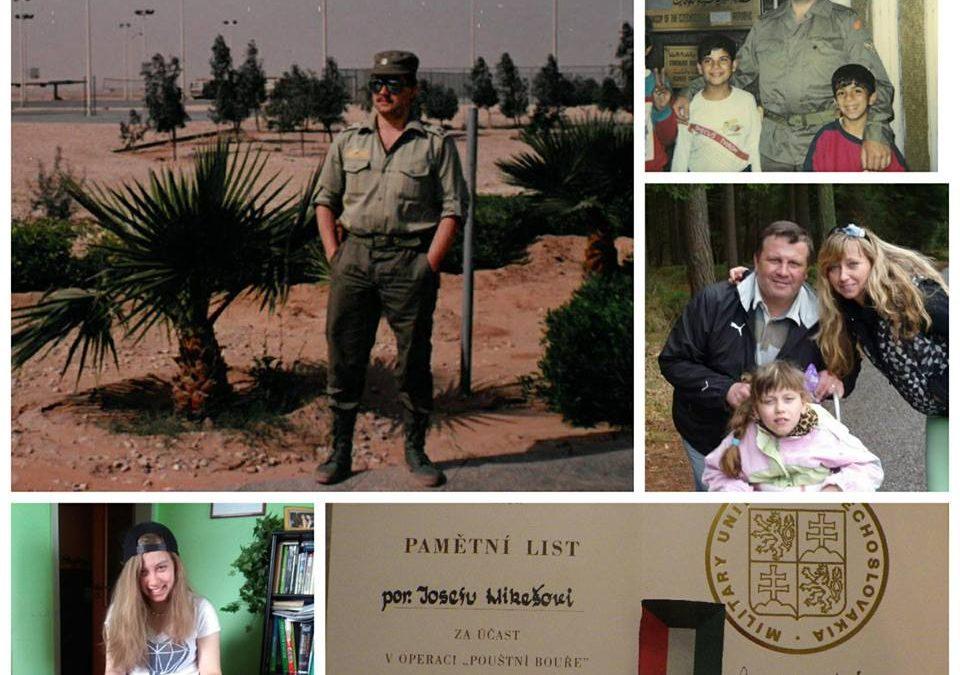 Pomáháme dceři válečného veterána.