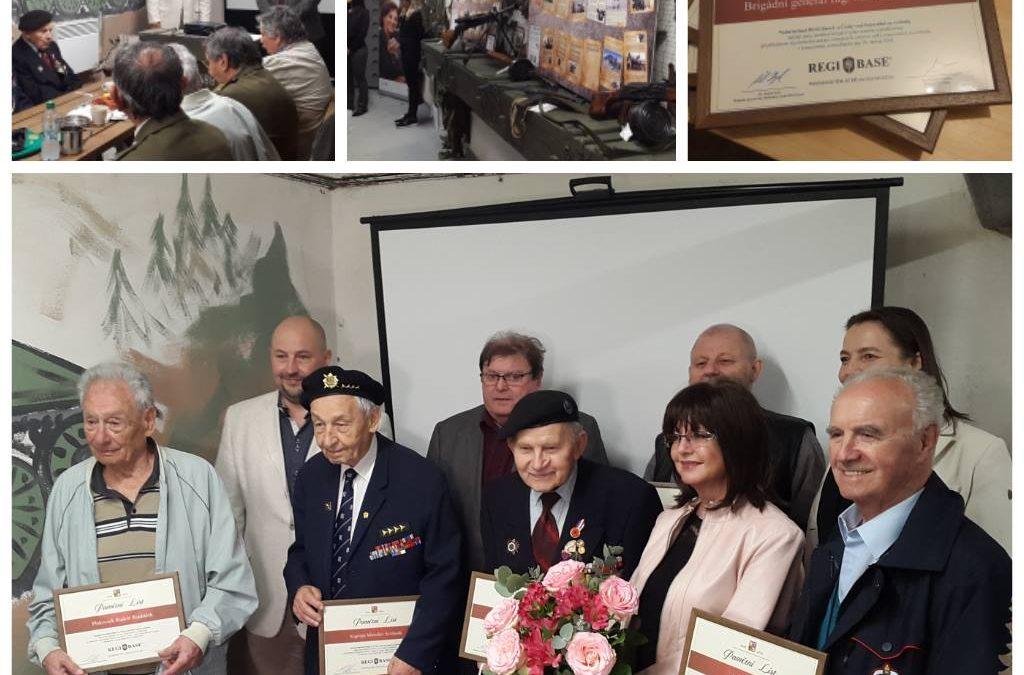 10. апреля 2018 Ветераны и борцы за свободу пришли вспомнить в реальном бункере!