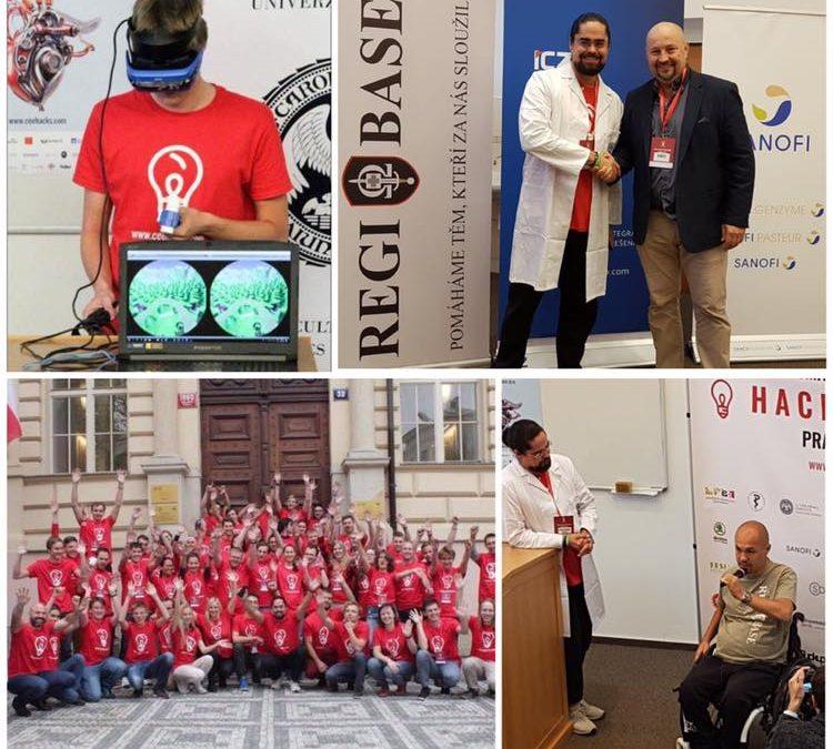 Akce Smart Health Hackathon pomáhá zraněnému vojákovi