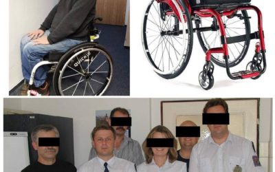 Nový vozík pro Vojtěcha Bureše