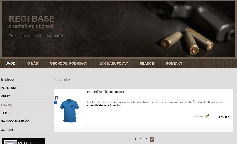 Charitativní e-shop REGI Base: nejen vánoční inspirace