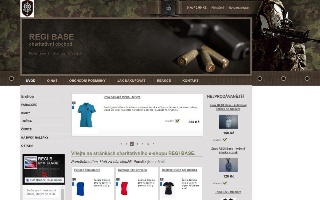 Spuštění e-shopu REGI Base