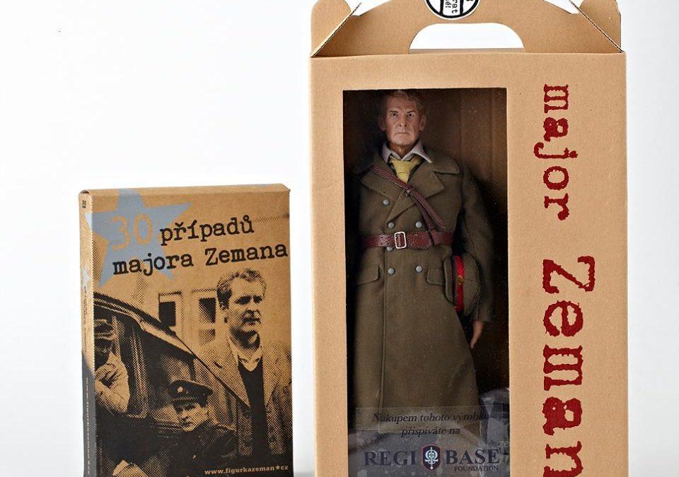 """Veterán Jiří """"Regi"""" Schams začal podnikat. Jeho společnost vyrábí a dováží speciální sběratelské figurky!"""
