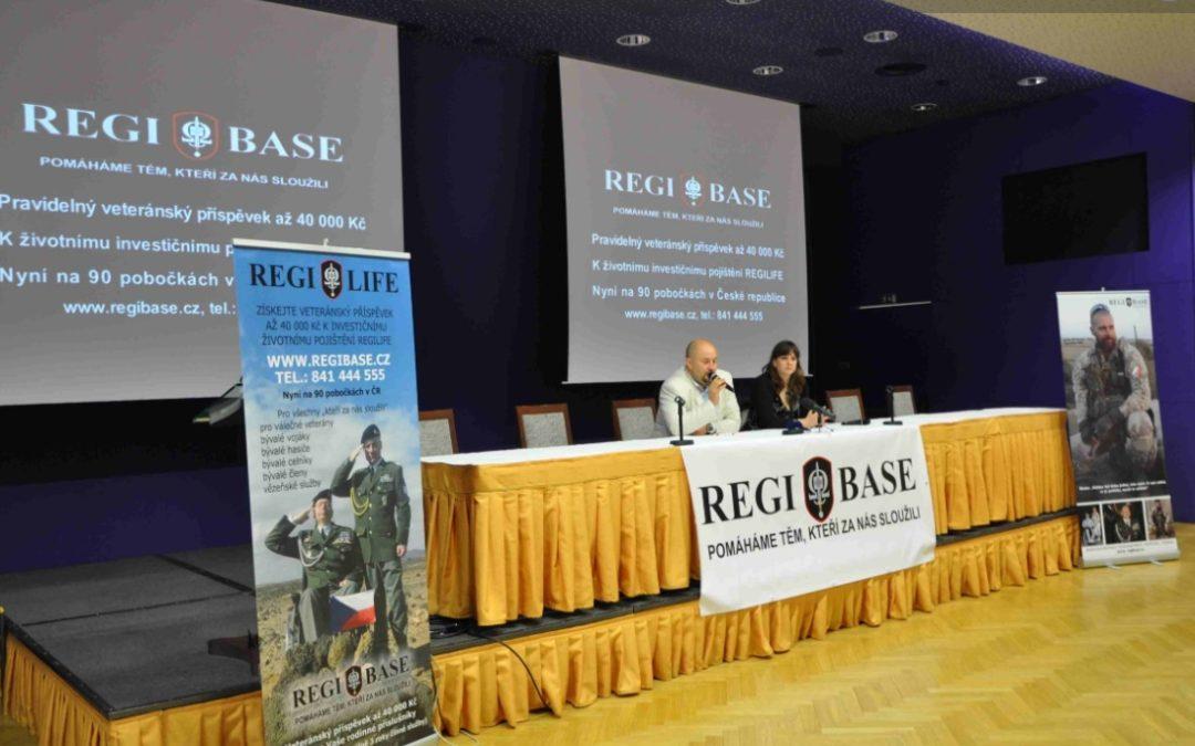 Regibase a veteránských příspěvek v mediích
