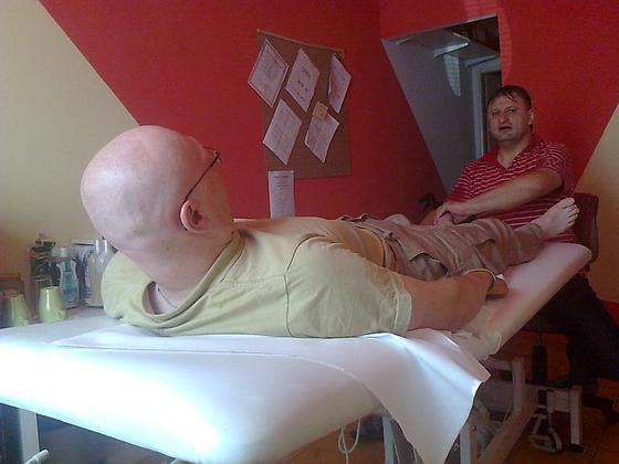 Regi na reflexní terapii. Konec trápení se zatuhnutým svalstvem