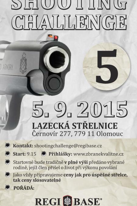 Další Shooting Challenge se chystá na září