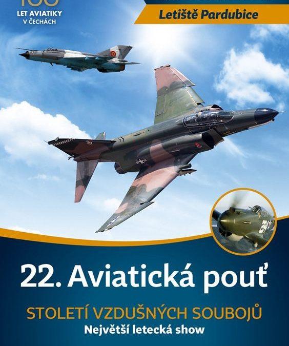22. Luftfahrtmesse in Pardubice