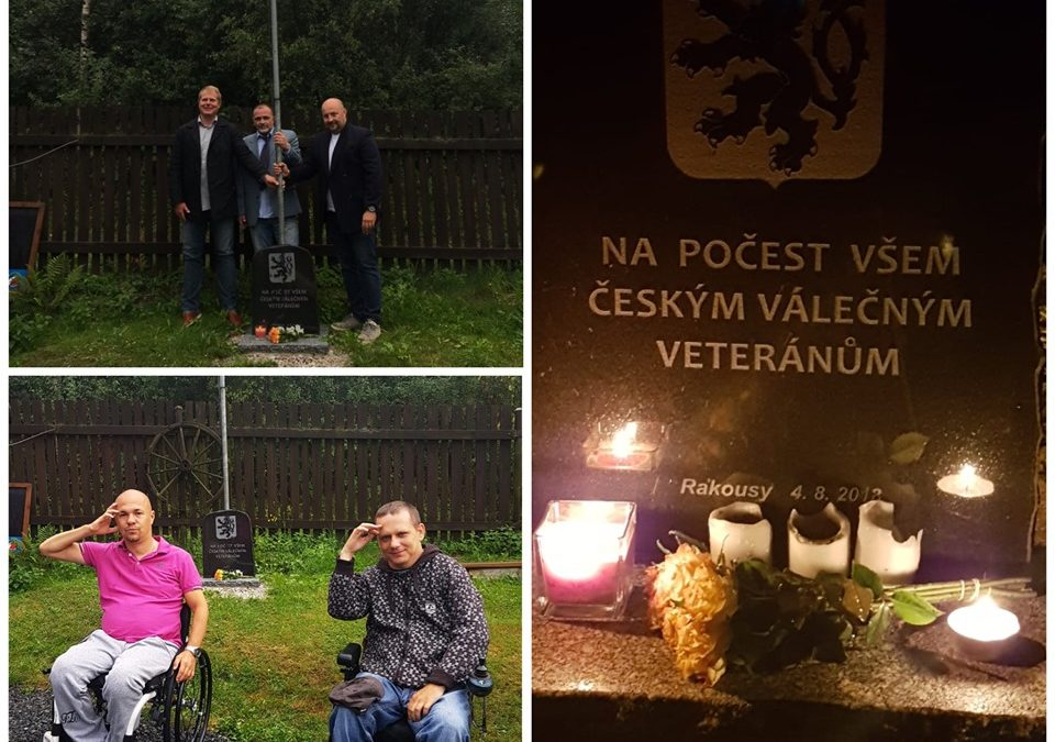 The first anniversary of the unveiling of the memorial dedicated to war veterans CZECH