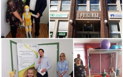 REGI Base s radostí přijal pozvání na slavnostní otevření nového pracoviště Neurorehabilitační kliniky