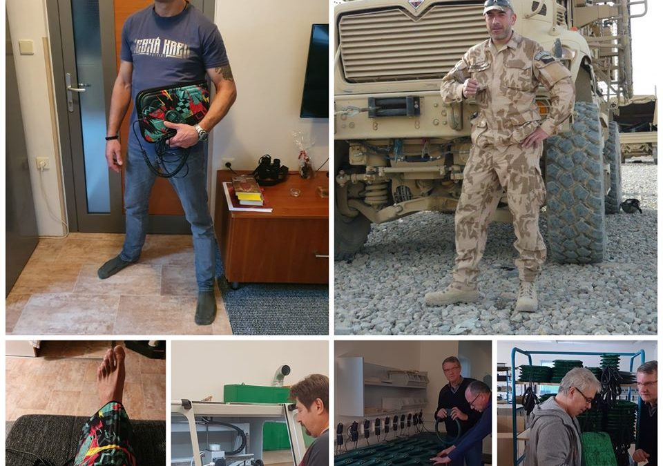 Zajištění speciálního přístroje pro veterána